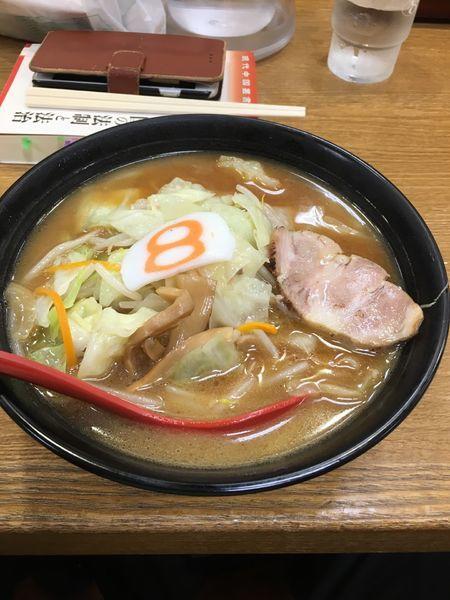 「8番セット」@8番らーめん 金沢駅店の写真