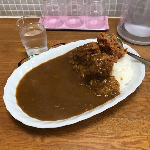 「鶏唐揚げカレー」@ジャン・カレー 末広町店の写真