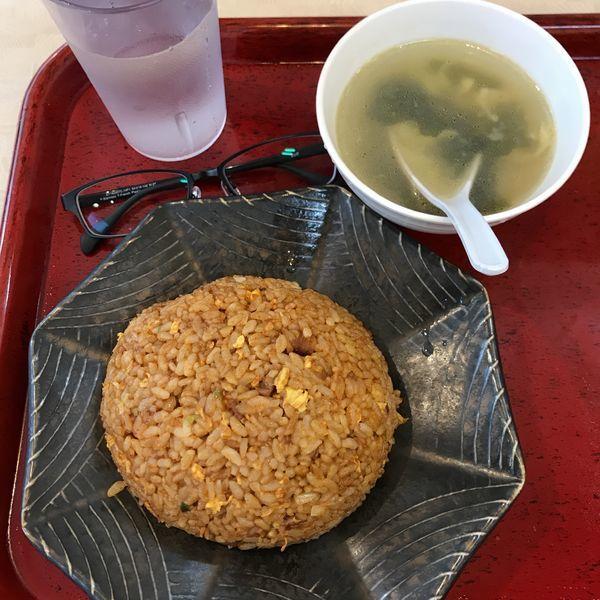 「うま辛炒飯」@中華食堂 一番館 池袋サンシャイン60通り店の写真
