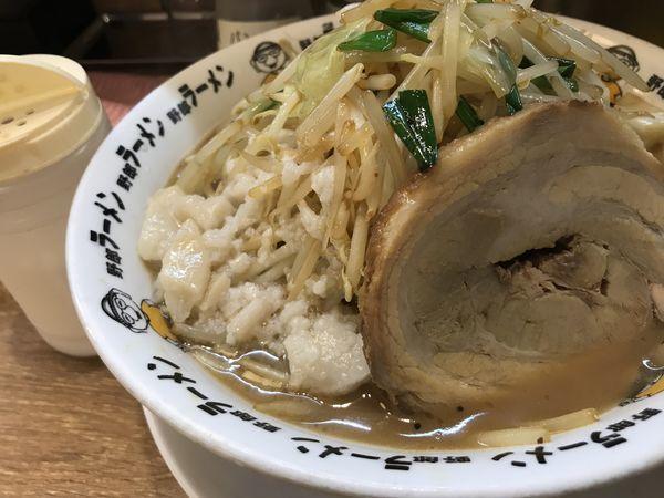 「豚骨野郎 780円」@野郎ラーメン 大森店の写真