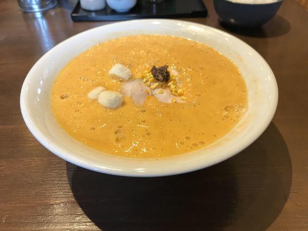 「オマール海老ラーメン」@麺屋はやぶさ 大須店の写真