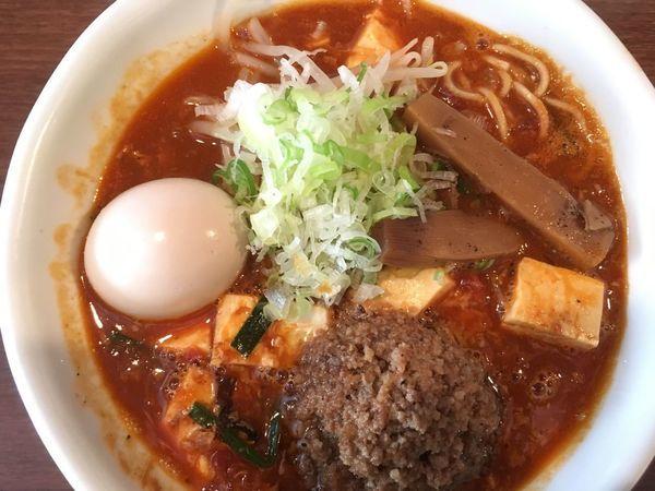 「【限定】酸辣湯麺 800円」@らーめん 和なり えんの写真