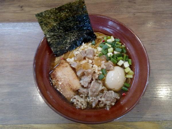 「極醤油SOBA」@麺家 Shumen Doushiの写真