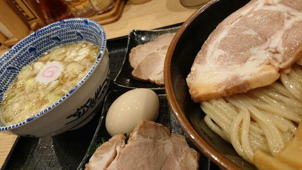「特製つけ麺 並」@舎鈴 池袋東口店の写真