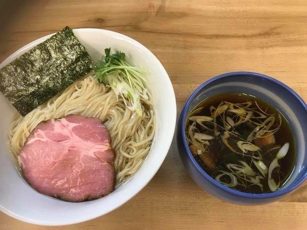 「昆布水のつけ麺 醤油 大盛」@麺処 有彩の写真