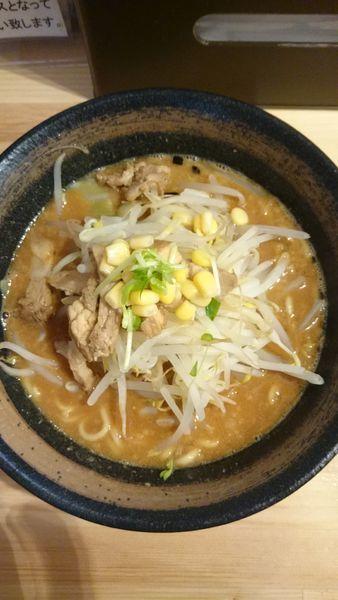 「味噌山賊麺   800円」@上州山賊麺 大大坊の写真