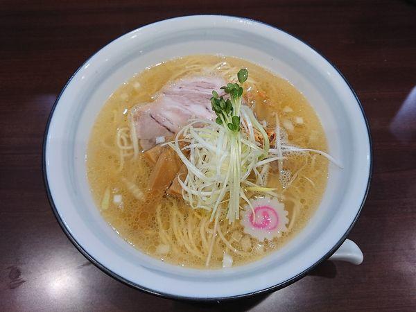 「芳醇鶏塩らーめん 700円」@らーめんつけ麺 吉田商店 本店の写真