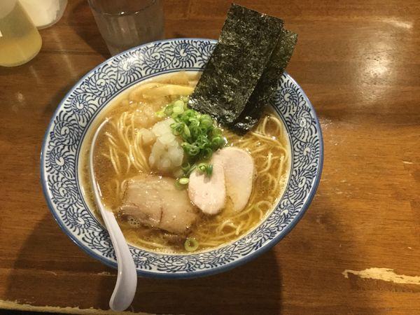「煮干しラーメン(あっさり)」@煮干しラーメン 麺匠 春晴の写真