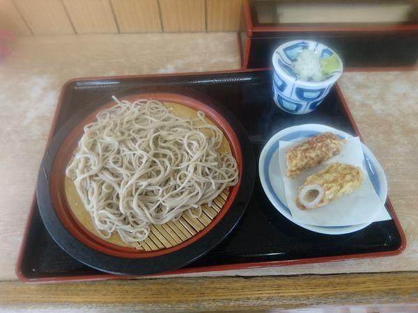 「もり蕎麦+ちくわ天 450円」@ねぎどんの写真