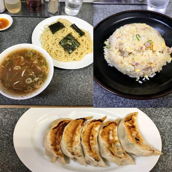 「つけ麺 炒飯 餃子」@中華屋 光の写真
