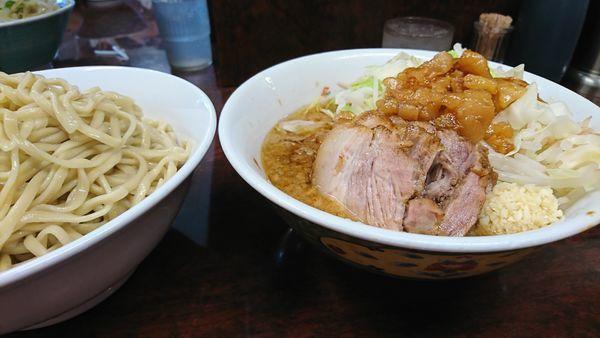 「つけ麺 ぶた小」@ラーメン二郎 めじろ台店の写真