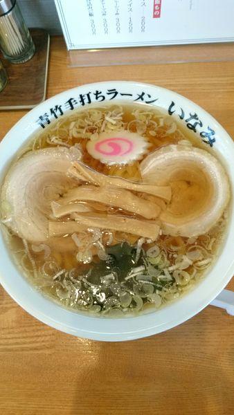 「ラーメン   650円」@青竹手打ちラーメン いなみの写真