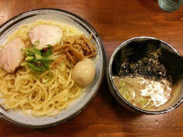 「特製つけ麺 大盛」@らーめん ひとふんばりの写真