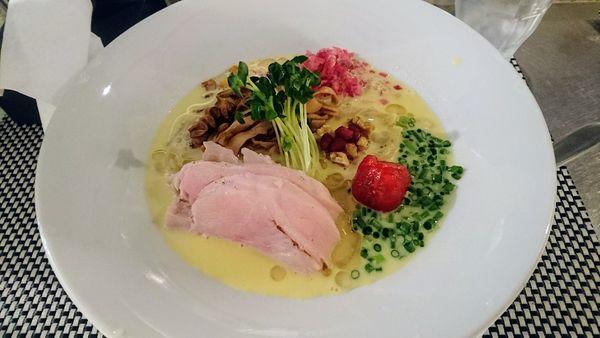 「トウモロコシの冷たいらぁめん」@麺や 庄の gotsuboの写真