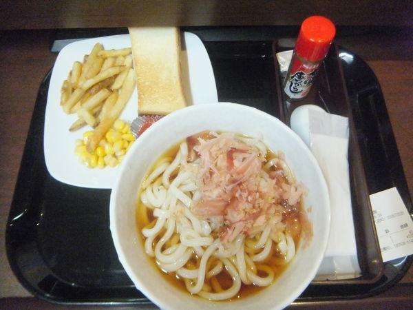「朝うどん冷205円・無料モーニング」@快活CLUB 4号名取店の写真
