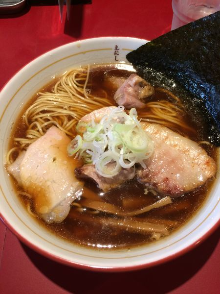 「ミックスラーメン(醤油)780円」@戸越らーめん えにしの写真