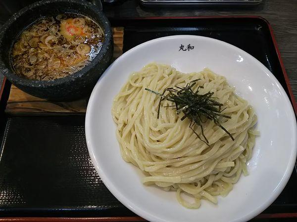 「嘉六つけ麺 (中盛:同価格)」@つけ麺丸和 名駅西店の写真