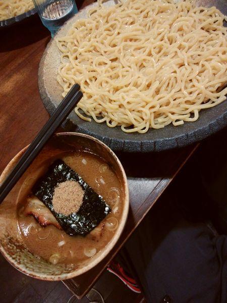 「つけ麺 大盛」@つけ麺屋 ひまわりの写真
