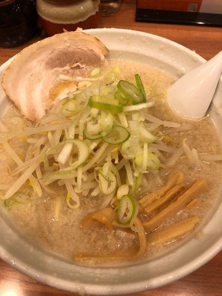 「背脂らーめん」@こってりらーめん なりたけ TOKYOの写真