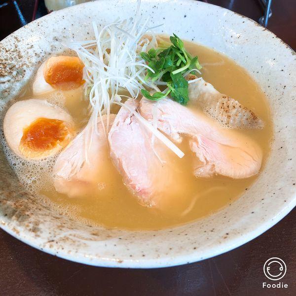 「熟成鶏そば」@めん処 金太の写真