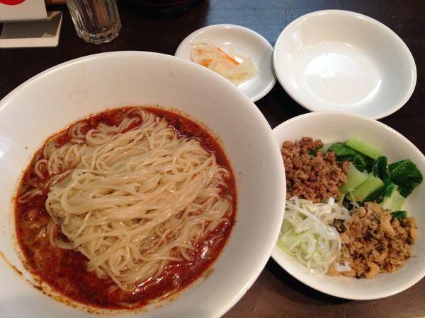 「汁なし坦々麺(限定20食)」@中国酒家 天福分の写真