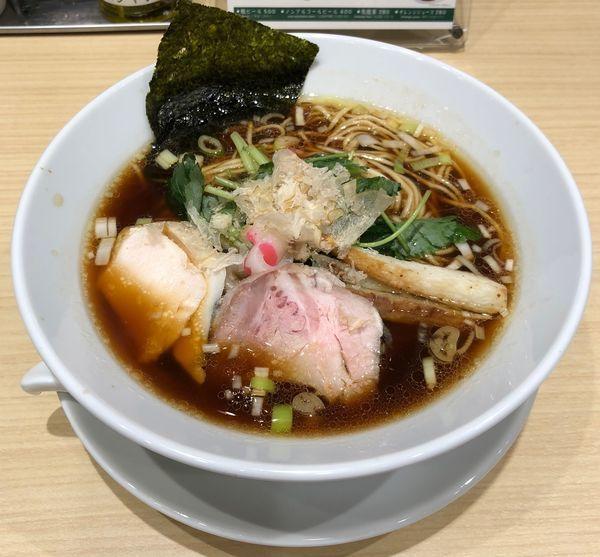 「鶏SOBA(¥880)」@むぎとオリーブ 日本橋店の写真