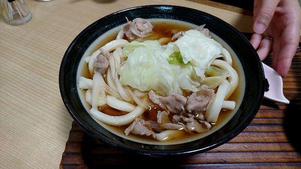 「肉うどん 500円」@べんけいの写真