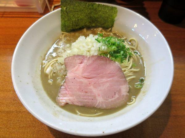 「煮干そば 極 800円」@麺屋 烈の写真
