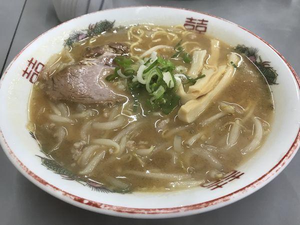 「みそラーメン 750円」@まるたかラーメンの写真
