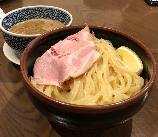 「豚骨魚介つけ麺 大盛」@セアブラノ神 伏見剛力の写真