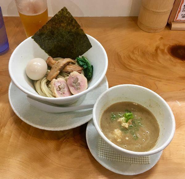 「秋刀魚の濃厚つけ麺」@麺屋BISQの写真