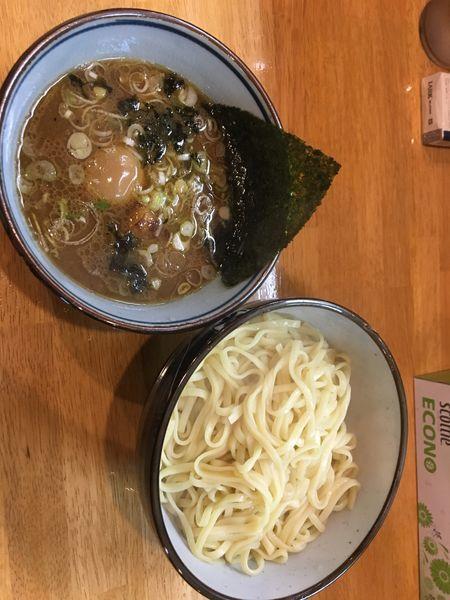「つけ麺中盛」@麺屋もり田 多治見店の写真