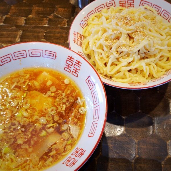 「【限定】中華つけめん 800円」@特級鶏蕎麦 龍介の写真
