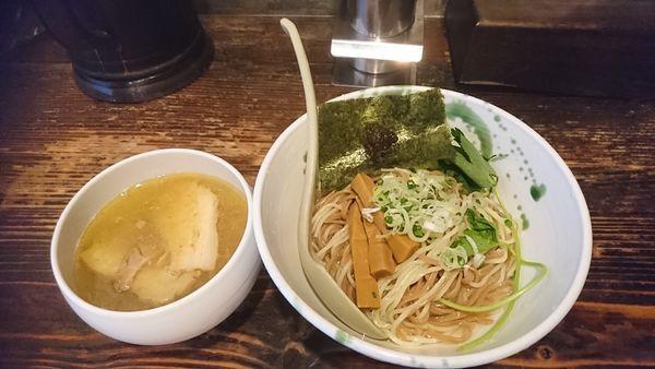 「塩つけ麺」@啜磨専科の写真