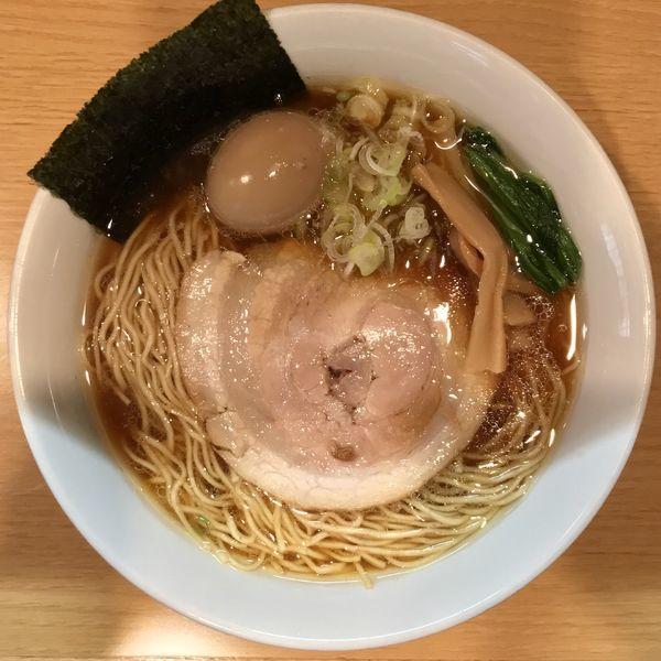 「醬油らーめん ¥700円(大盛+100円・味玉サービスCP)」@らーめん こうすけの写真