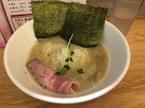 「塩白湯(780円)」@匠龍麺の写真