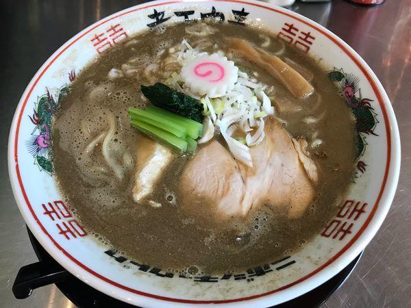 「濁り煮干しソバ  800円」@津軽煮干中華蕎麦 サムライブギーの写真