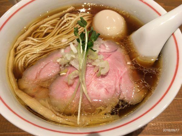 「特製軍鶏」@麺尊 RAGEの写真