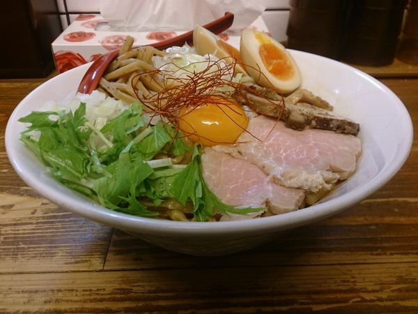 「特製油そば」@くじら食堂の写真