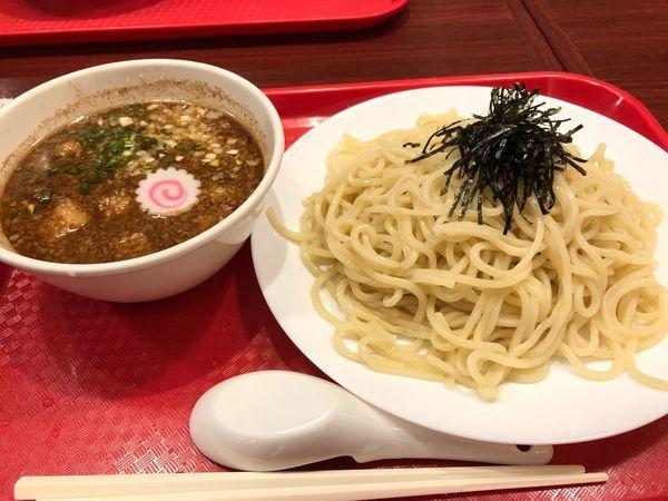 「トクつけ麺魚介醤油 冷 中盛300g」@ラーメンダイナー GOGO宝来軒の写真