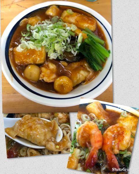 「菊月の一杯 俺の雲呑チリソースW ¥2300」@MENYA 食い味の道有楽の写真