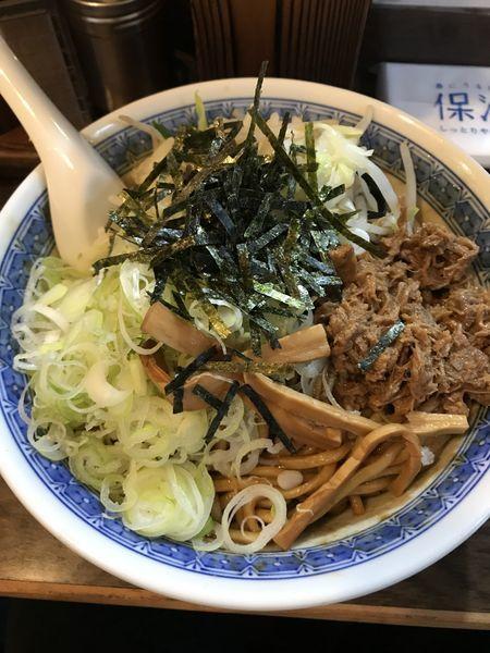 「塩B麺(おおめ)¥750」@麺舗十六の写真