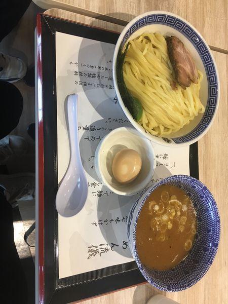 「味玉つけ麺」@つじ田 ららぽーと湘南平塚店の写真