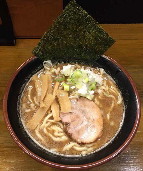 「鬼煮干らーめん(醤油)780円」@麺処 六伍郎の写真