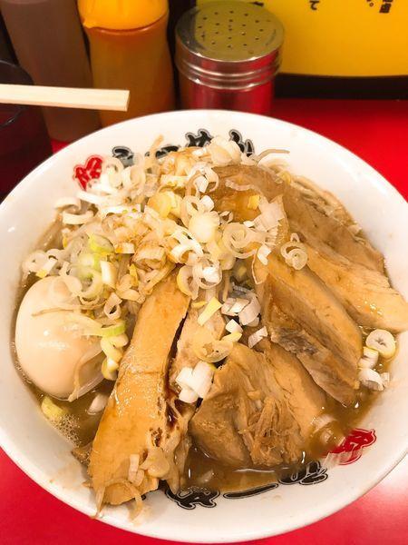 「味玉豚ラーメン」@豚ラーメン 板橋駅前店の写真