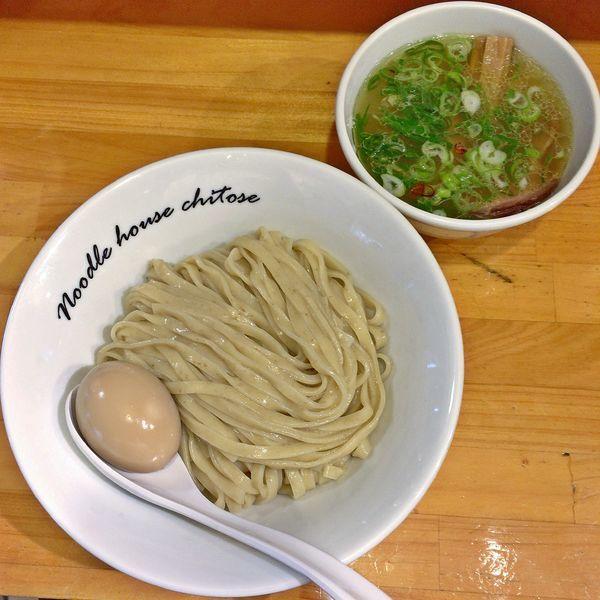 「塩つけ麺¥900+味玉¥70」@麺庵ちとせの写真
