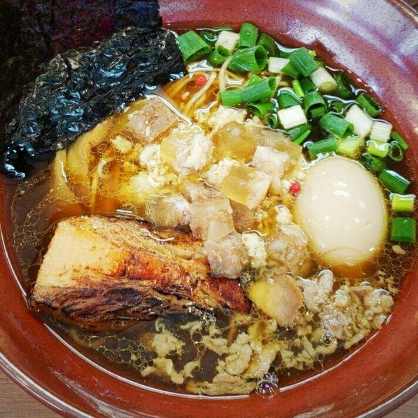 「極-Kiwami-正油SOBA 890円」@麺家 Shumen Doushiの写真