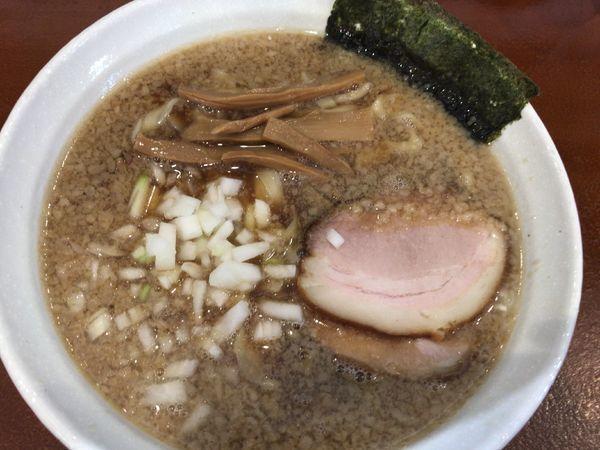 「背脂煮干しラーメン780円」@麺処いろ葉の写真