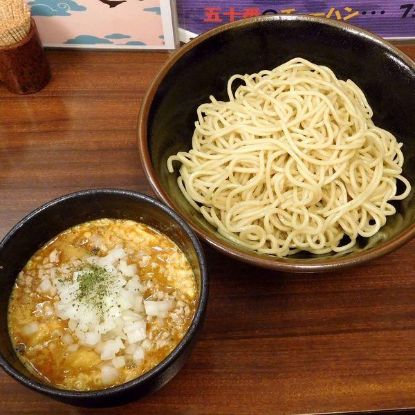 「カレー担々つけ麺(930円)」@中華料理 五十番の写真