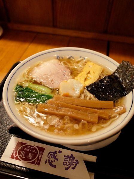 「中華そば…700円」@信州小麦ラーメン 亀屋の写真